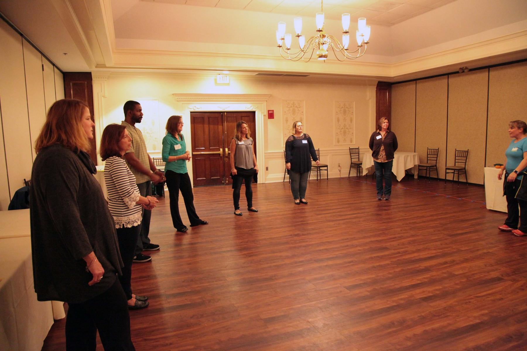MA PTA Health Summit BOKS Workshop Attendees