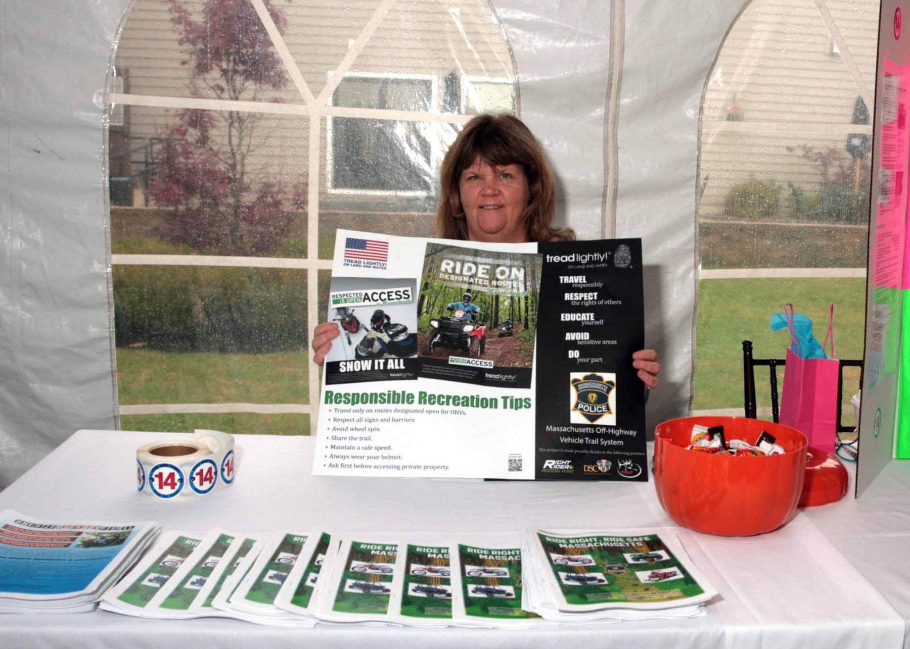 Katie Kearney, Sean's Law, MA PTA Health Summit Vendor