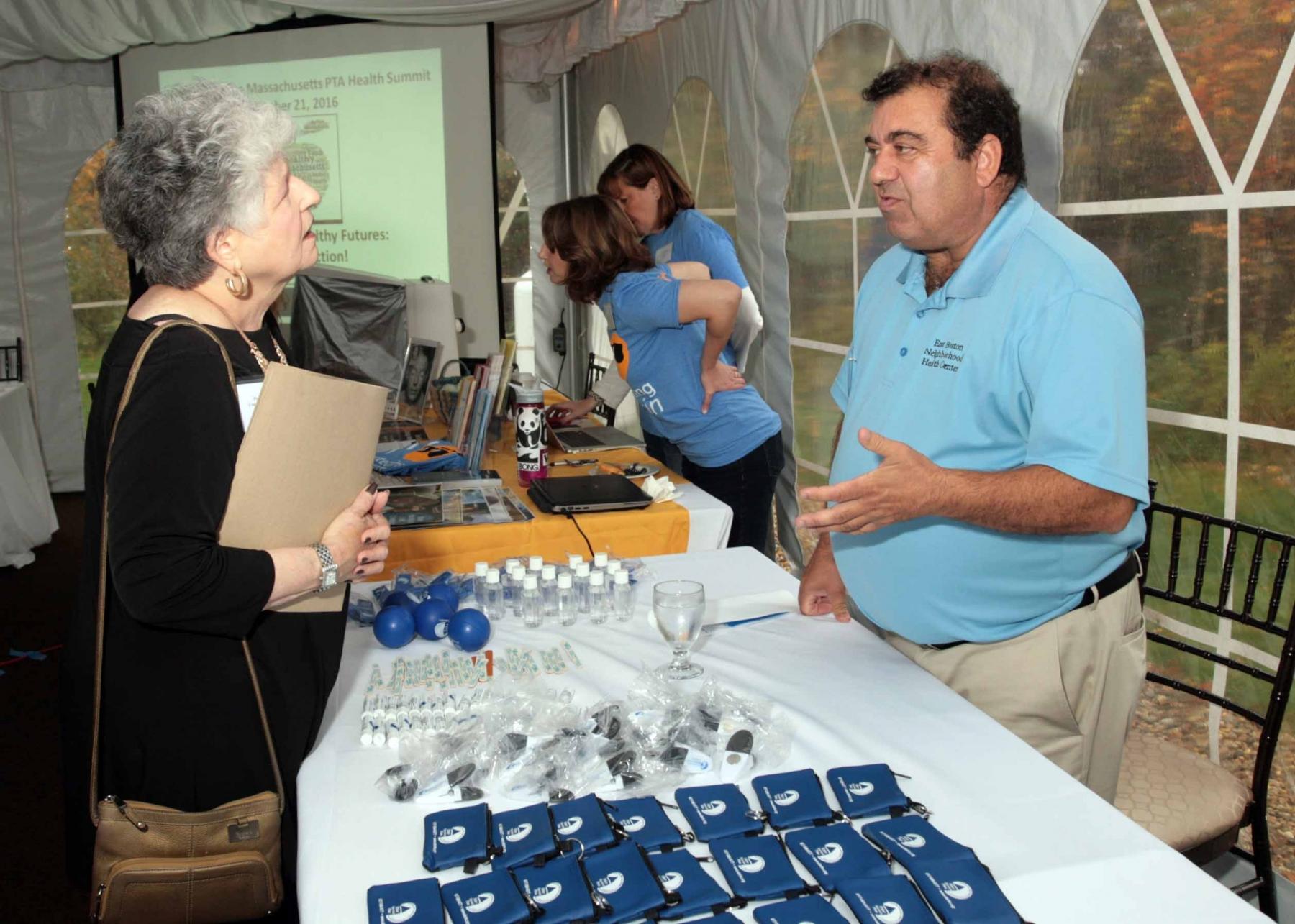 Mike Nicastro, East Boston Neighborhood Health Center - MA PTA Health Summit Vendors