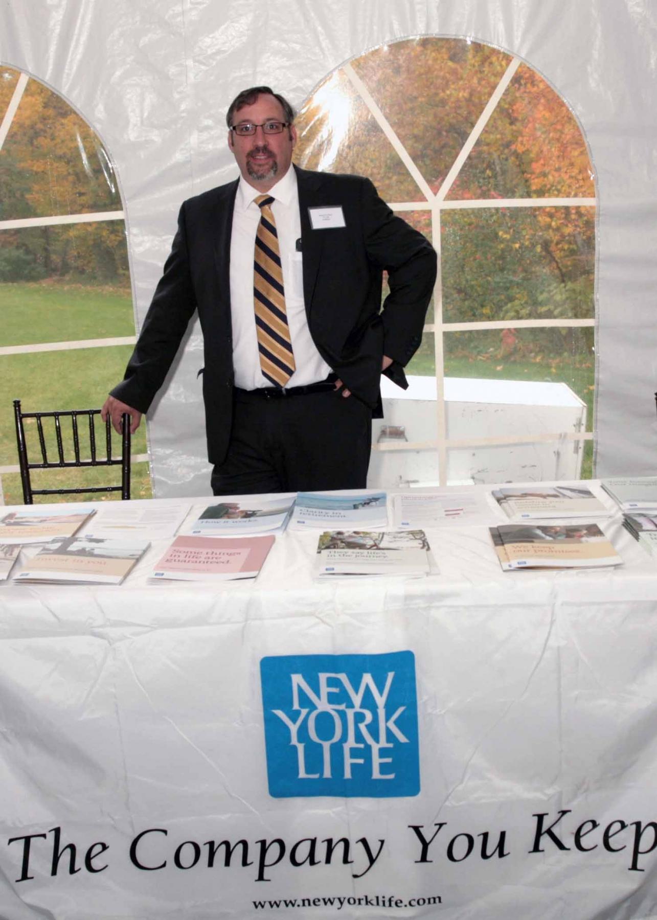 Rob Crocker, NY Life Agent, MA PTA Health Summit Vendor