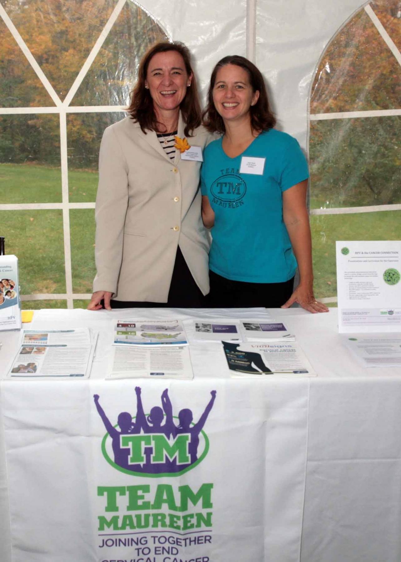 Team Maureen - MA PTA Health Summit Vendor